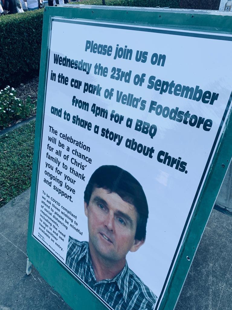 Memorial for Chris Vella. Picture: Tara Miko