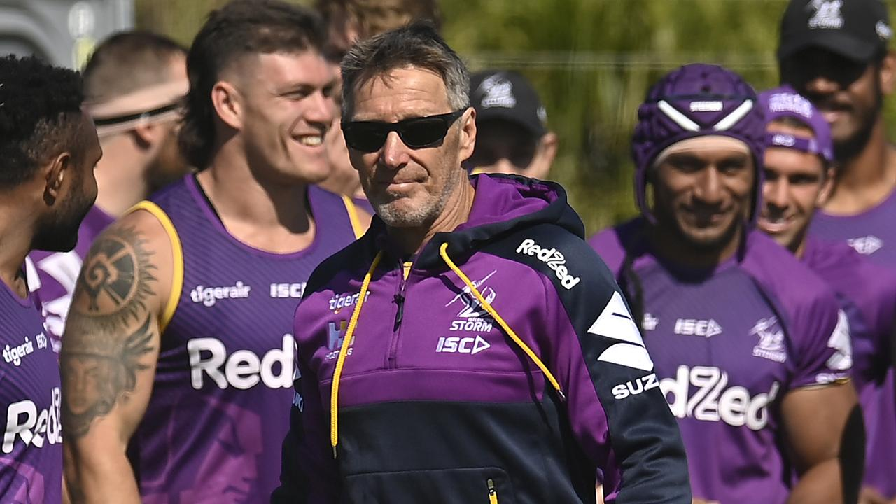 Melbourne Storm head coach Craig Bellamy. Picture: Albert Perez/Getty