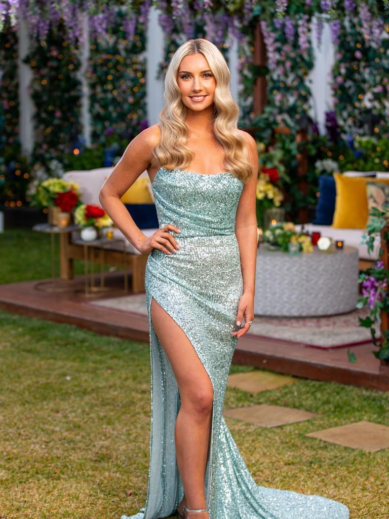 Former Sunshine Coast girl Bec Cvilikas has not given up on finding love despite not receiving a rose from bachelor Locky Gilbert.