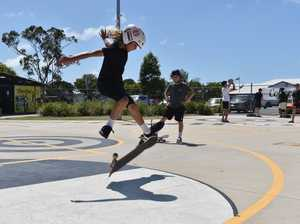 Pro-skaters and Mackay kids rumble in the Sugarbowl