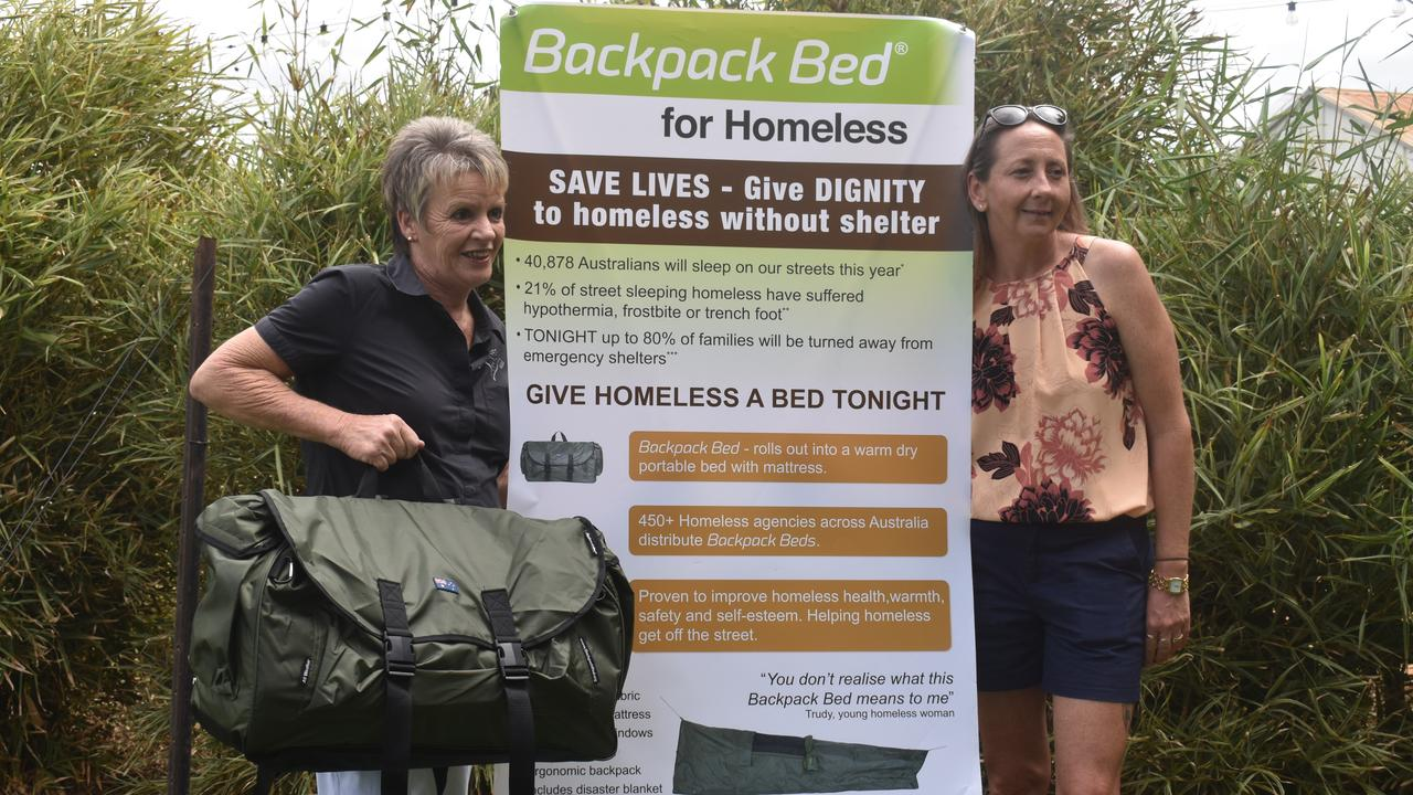 Gail Mole and Jodi Morris have opened up about homelessness in the region as they get ready to camp out for a cause in October.