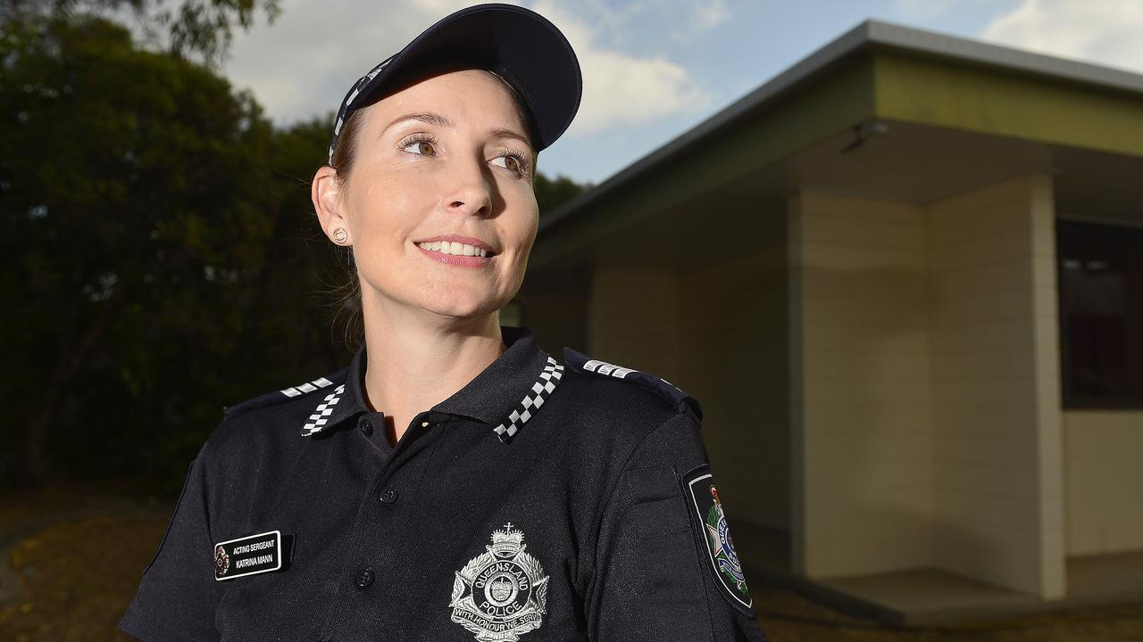 Acting Sergeant Katrina Mann helped save the life of a boy with CPR. PICTURE: MATT TAYLOR.