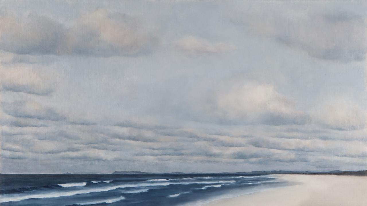 Cedar Jeffs, Nubilous, 2020, oil on linen, 61 x 92cm. Image courtesy the artist.
