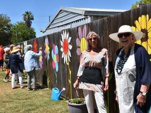 Warwick resident Joyce Garratt's blooming birthday