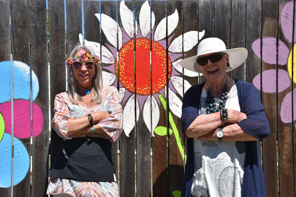 Image for sale: Warwick resident Joyce Garratt's blooming birthday bash.
