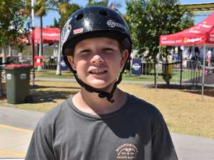 Lukas Byers, 12, at the Rumble on the Reef event, *at