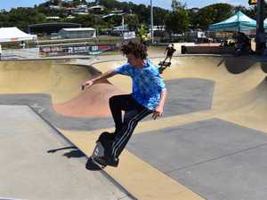 Skaters tested out their skills on the Sugar Bowl
