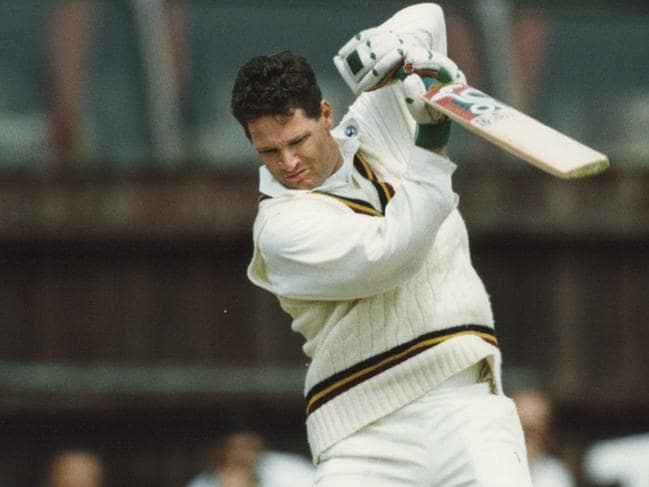 Dean Jones was an exciting and energetic cricketer who brought passion to the sport. Source: News Corp Australia