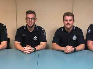 Meet Gladstone's four new police officers
