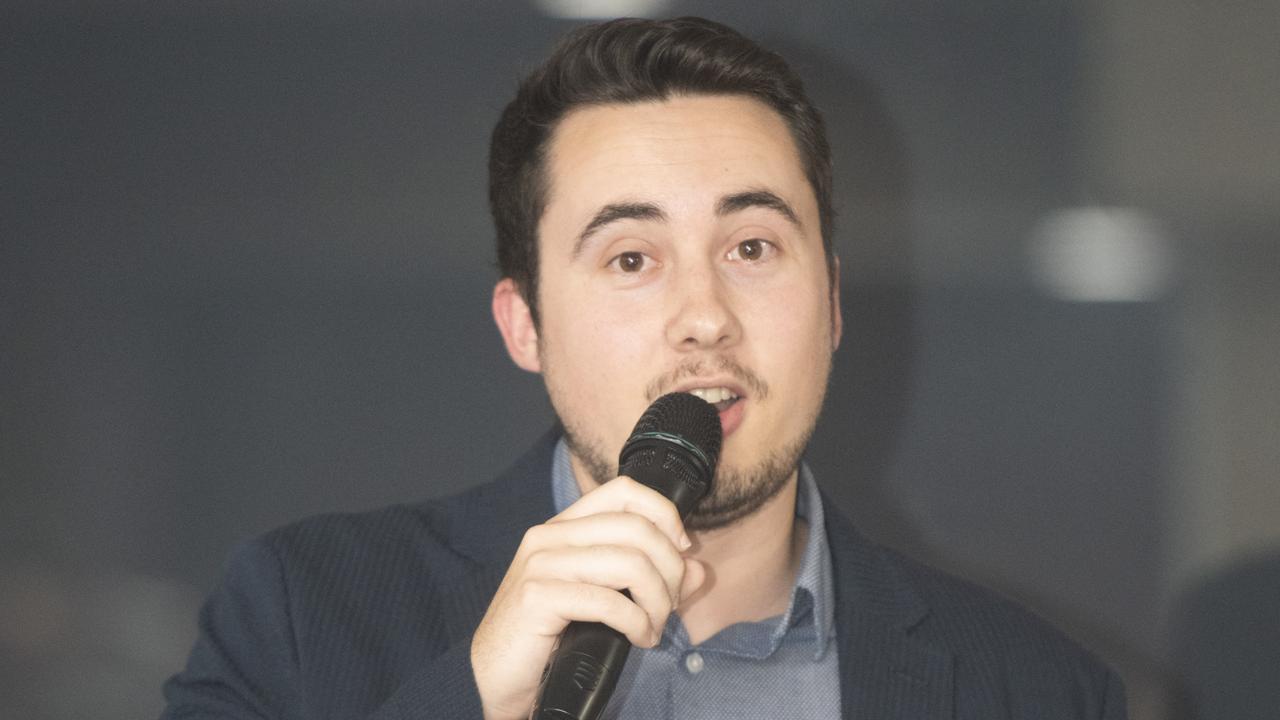 Mitchell Keenan at the 2019 Daily Examiner Sports Awards