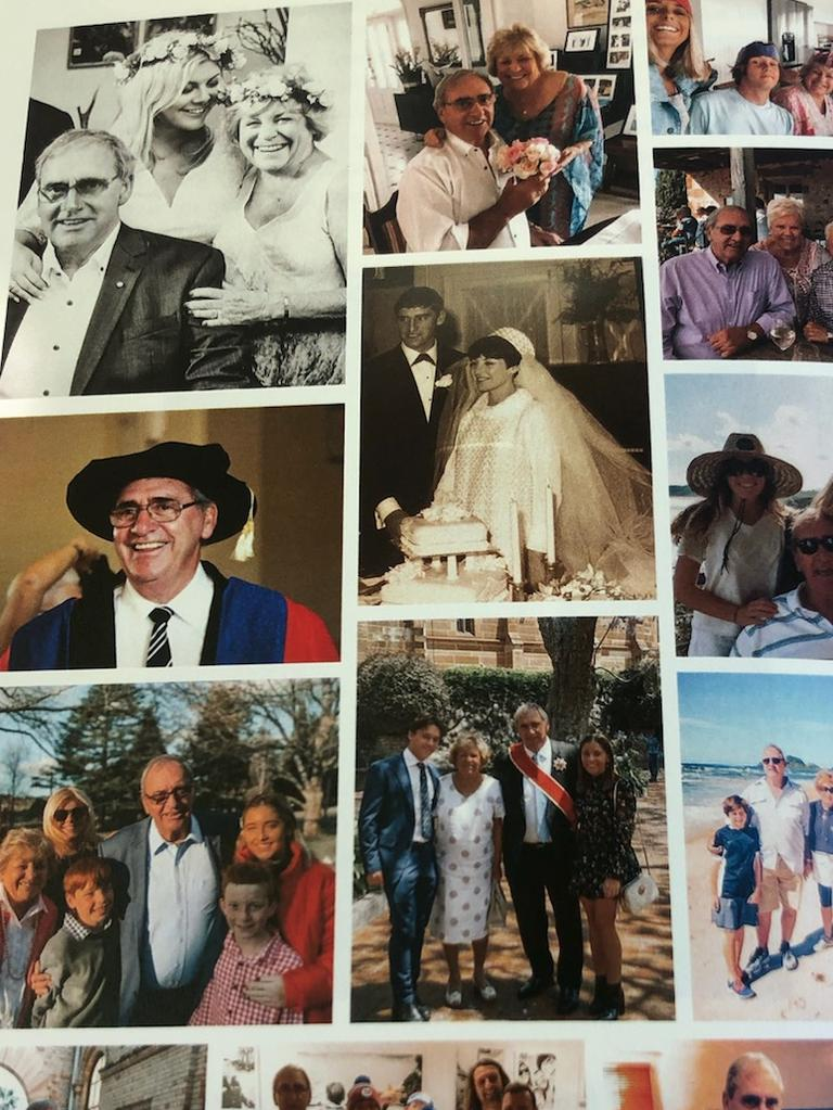 Images of a life lived for others, photos of Mr Fahey's life were shared with attendees at the funeral.