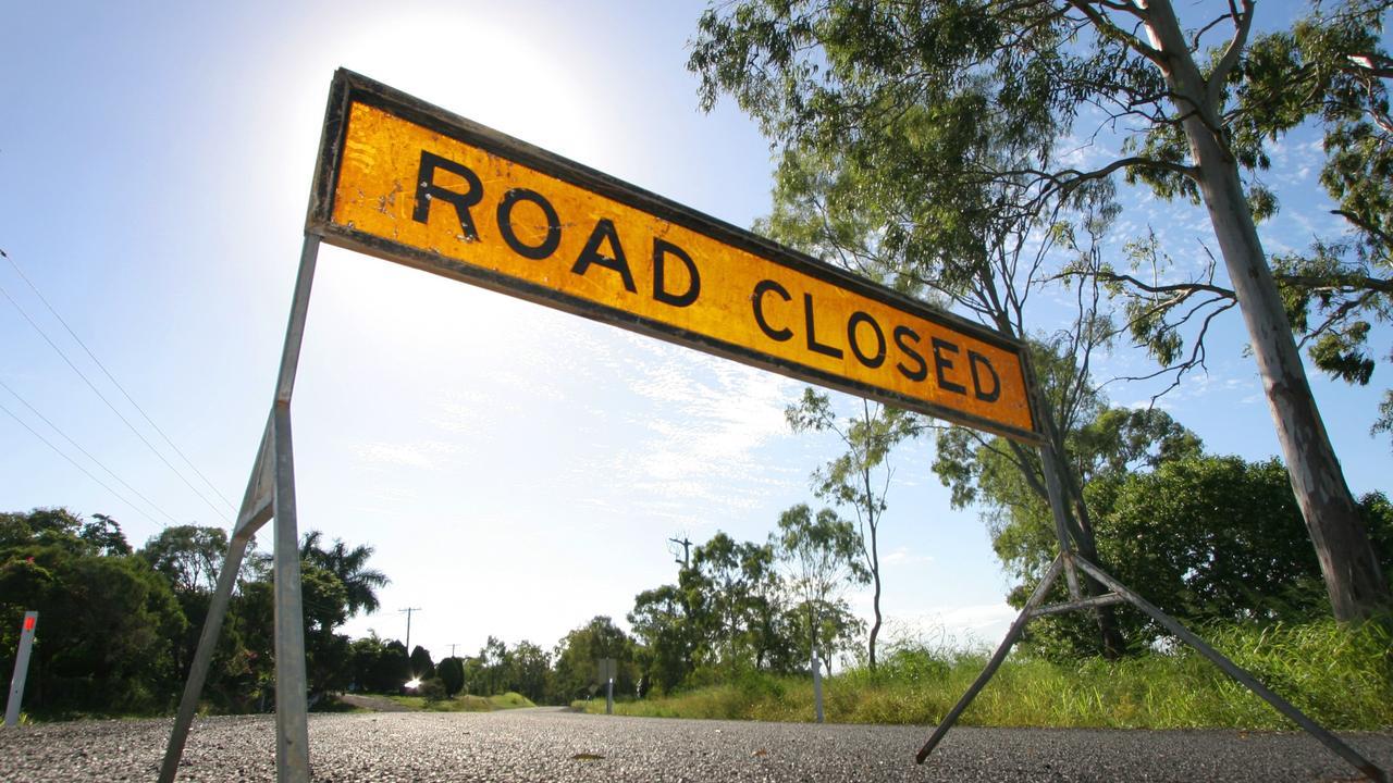 Blasting works will shut the Bowen Developmental Rd at Mount Coolon next week. Photo Chris Ison