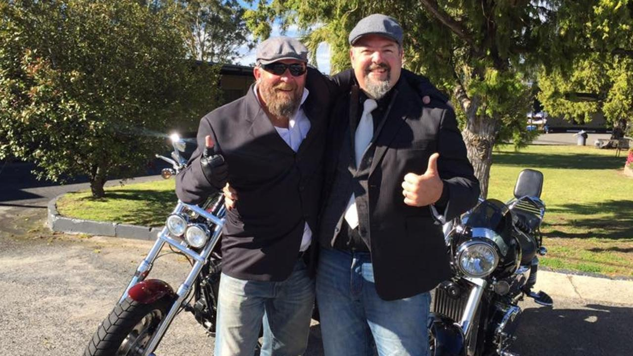 RIDING ON: Chris Gorman and Shaun Cox will continue the tradition of the Distinguished Gentleman's Ride.