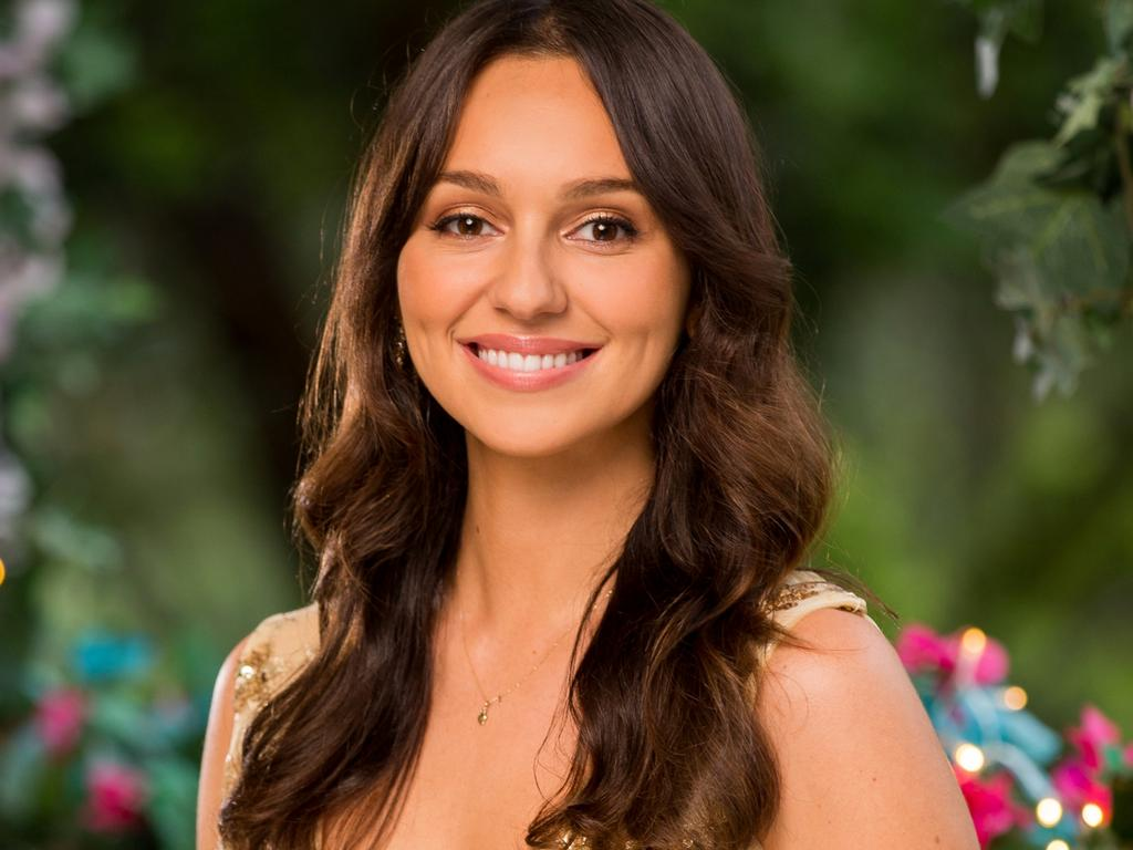 Bella Varelis from The Bachelor.