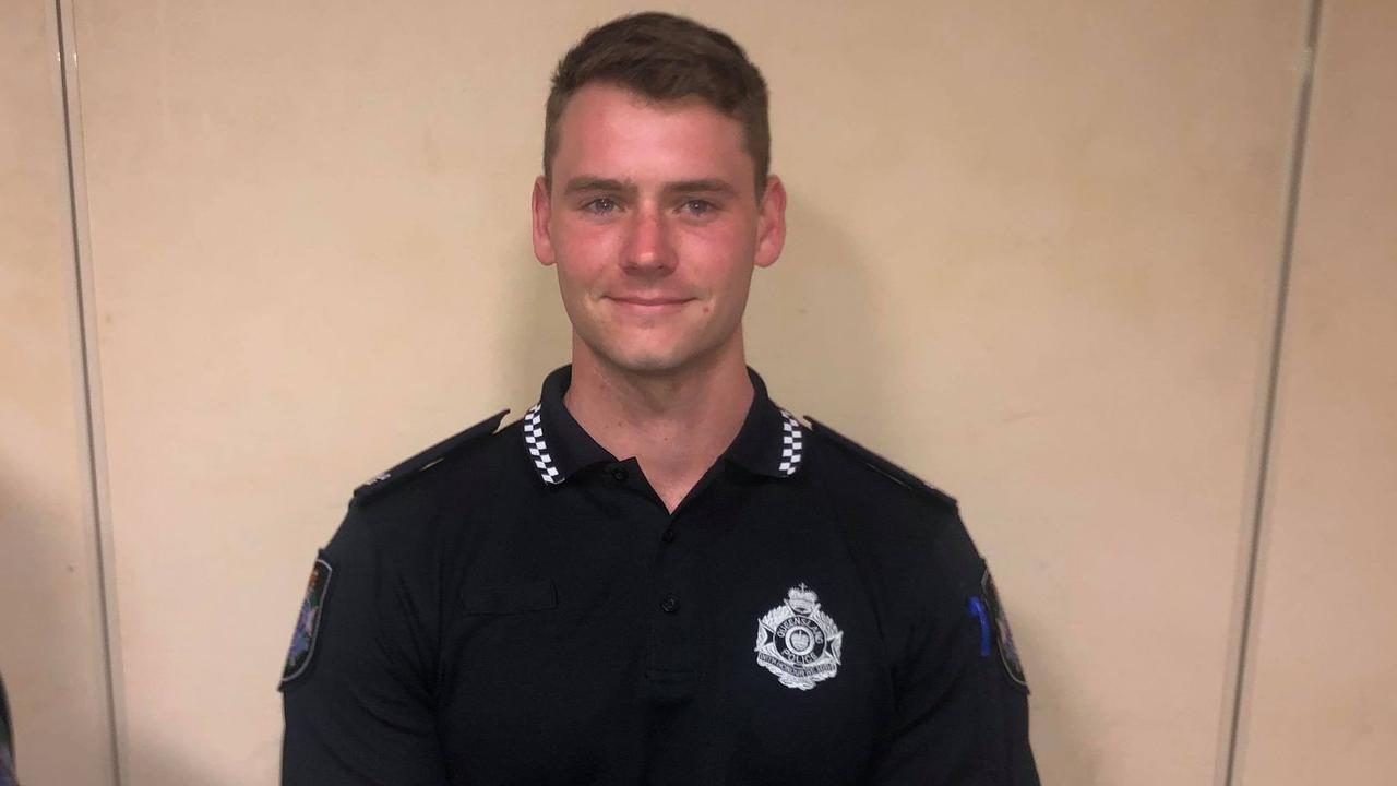 Daniel Good, 24, is from Brisbane and his favourite show is the cop classic Brooklyn 99.