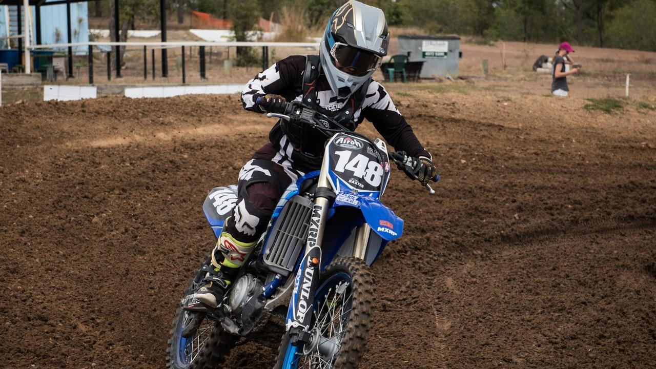 Kirra-Lee Baxter will be a rider to watch at the Queensland Women's and Veterans Motocross Championships at Benaraby raceway in October.