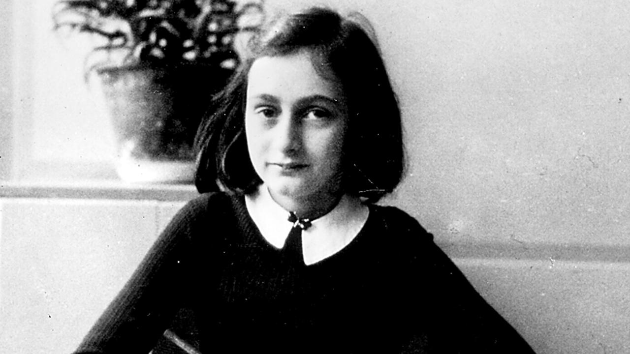 Holocaust victim Anne Frank, who the costume is based on.