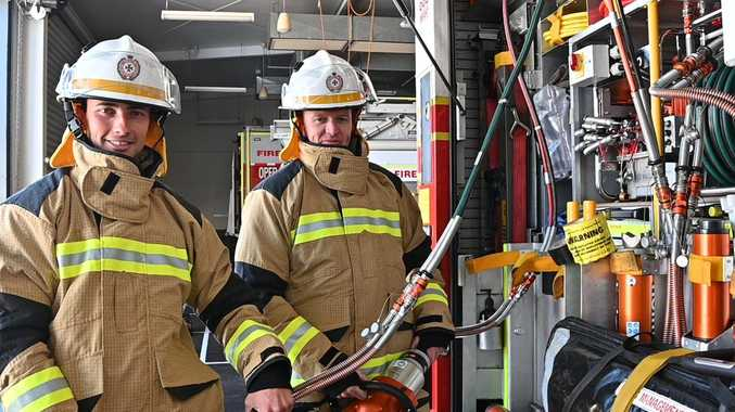 Toowoomba blokes suit up to fight fires