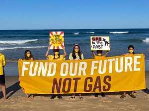 Coffs students rally against 'gas cash grab'