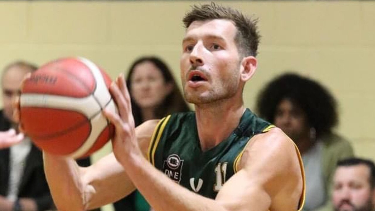 Ipswich Force basketballer Ryan Jeffries playing a key role in the 2020 Queensland State League competition.