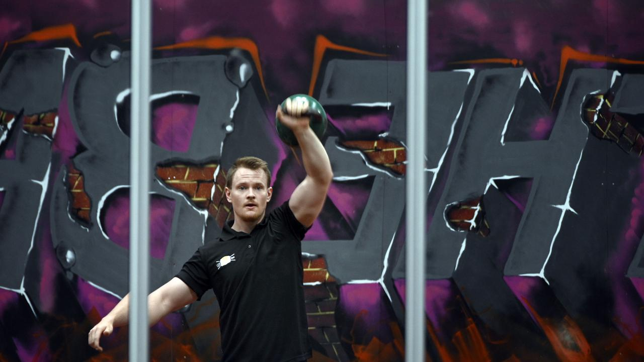 Lochie Wagner, personal trainer, The Bar has won an award.