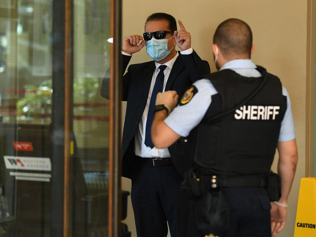 Ali Khorami walked in but did not walk out of court on Friday. Picture: NCA NewsWire/Joel Carrett