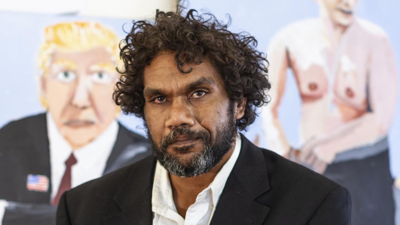 Vincent Namatjira, courtesy of Iwantja Arts, Photographer: Jackson Lee