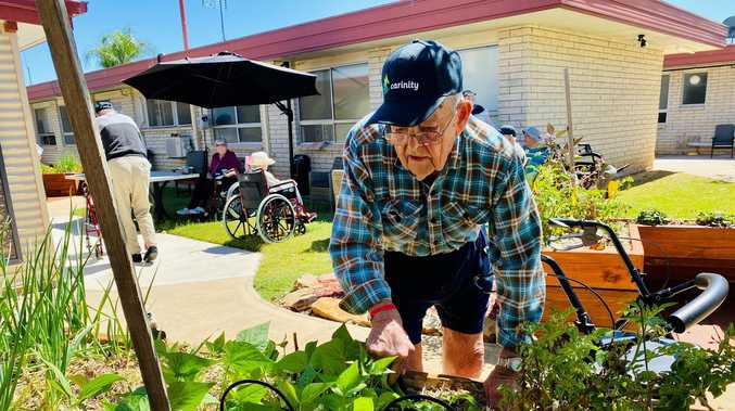 Residents enjoying company as aged care home opens