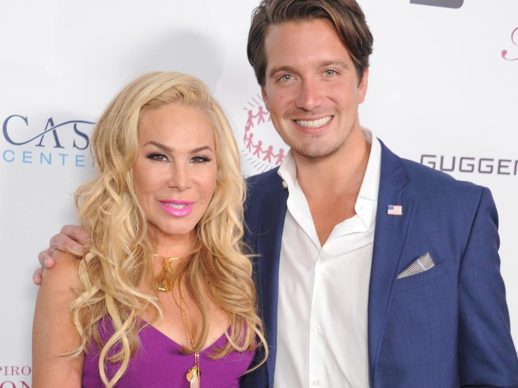 Adrienne Maloof and Jacob Busch in 2017. Picture: Gregg DeGuire/WireImage
