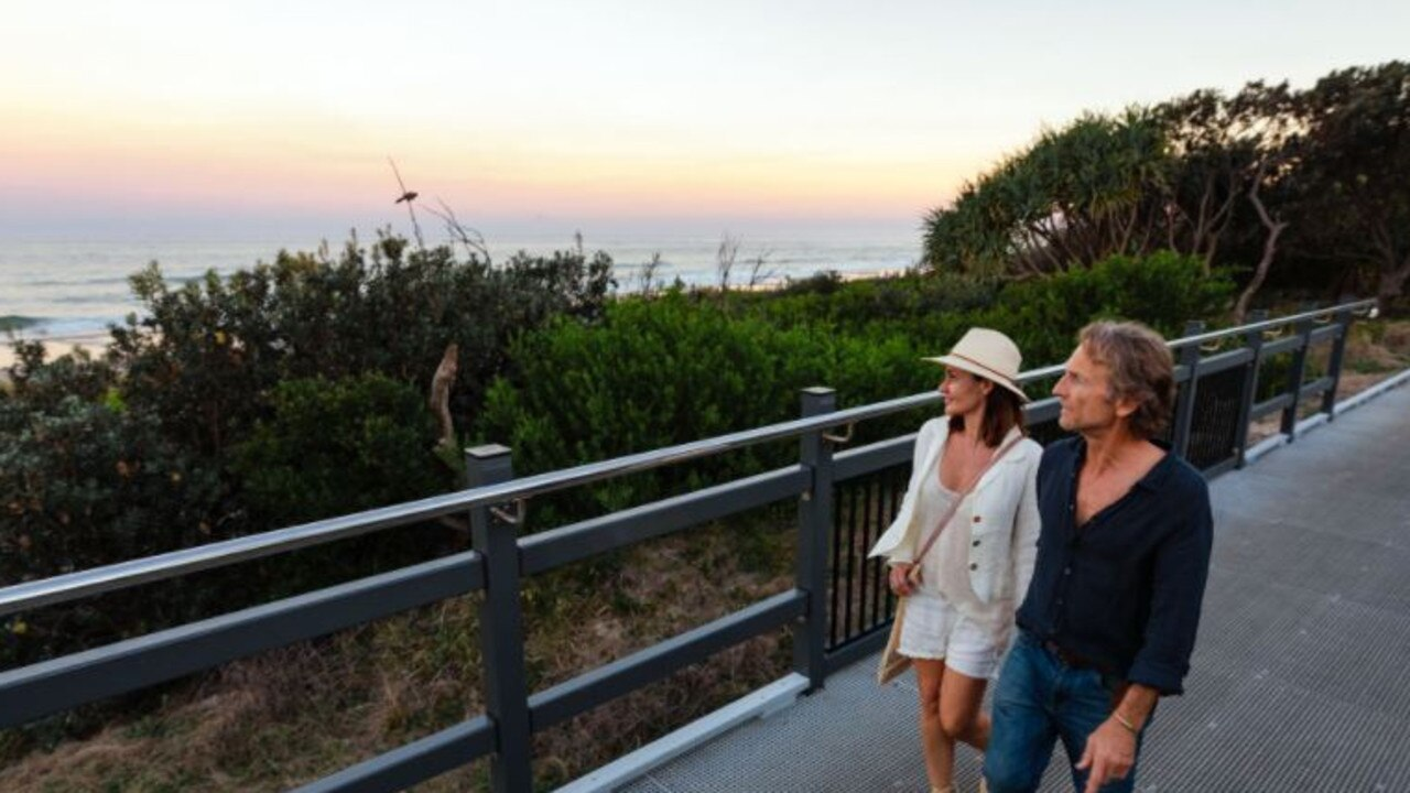 The Coastal Shared Path from Ballina to Lennox Head is almost finished.