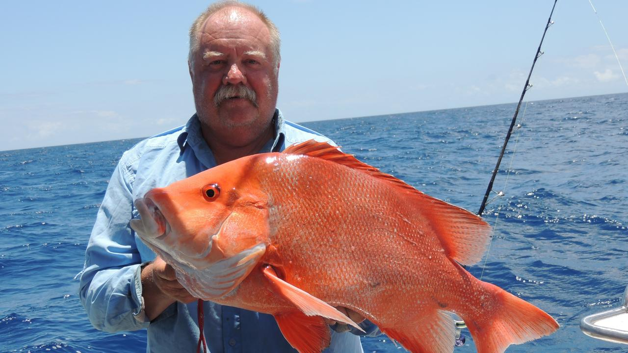 Scott Lynch with a fine local red emperor.