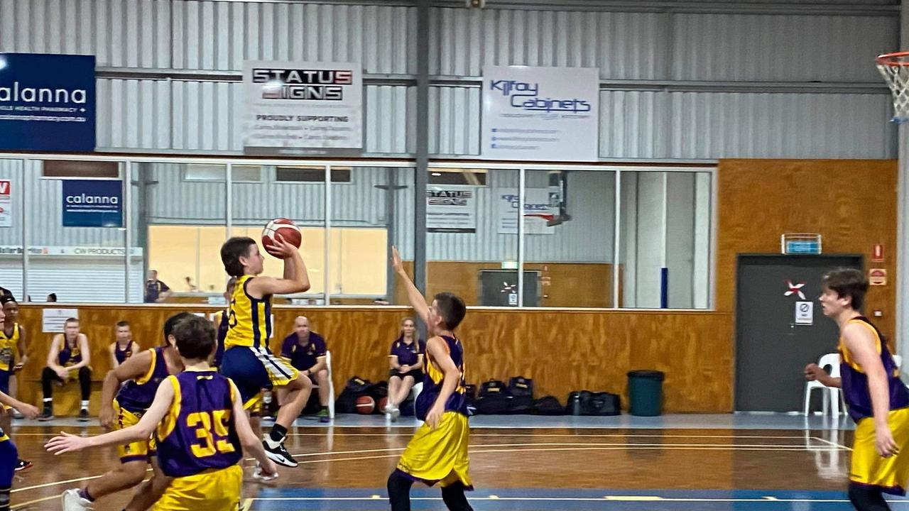 The Gladstone Power U14 boys basketball team go head-to-head with Logan Thunder Gold then Cairns Stingers tomorrow.