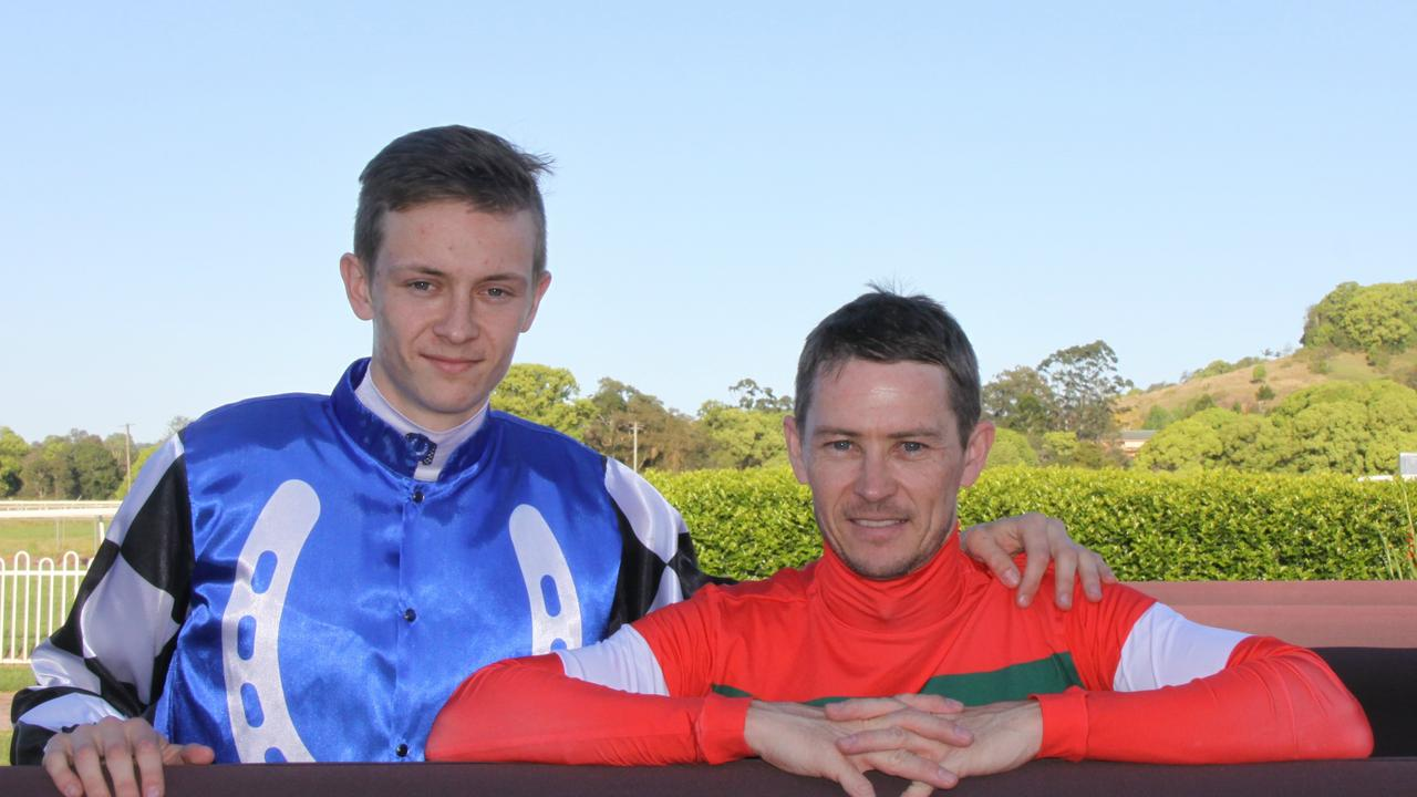 LISMORE CUP: It was father versus son when Dylan raced his dad Andrew in the 2020 Lismore Cup.