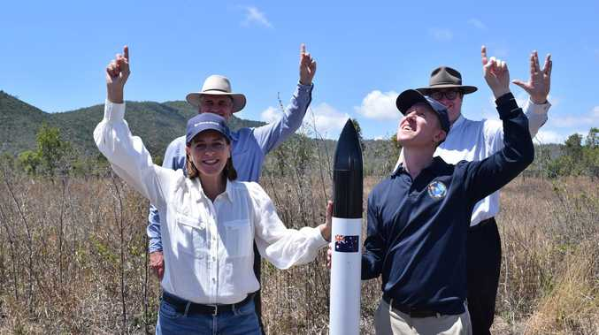 $15M FOR LIFT-OFF: Cash pledge for rocket launch site