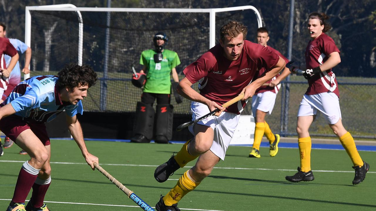 Cooloola Heat against Caloundra in the men's division 1 hockey semi-final. FILE PHOTO