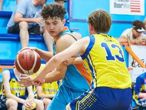 REPLAY: U14 QLD Basketball Bris Caps Gold v Sthn Districts =