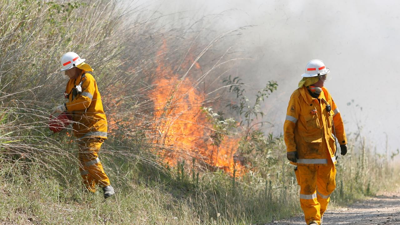 Vegetation fires are burning in Conondale and Woodford. Photo: Chris Ison / File