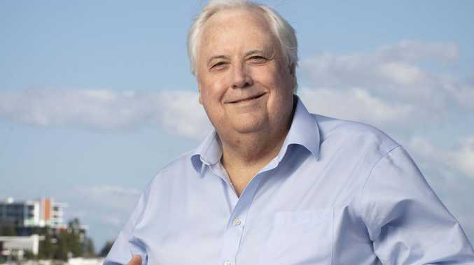 Check out Clive Palmer's $8m new toy