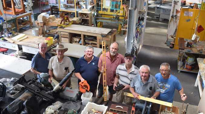 Projects and $35k extensions flow for Gladstone Men's Shed