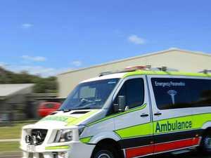 Man critically injured in horror crash, three children in car