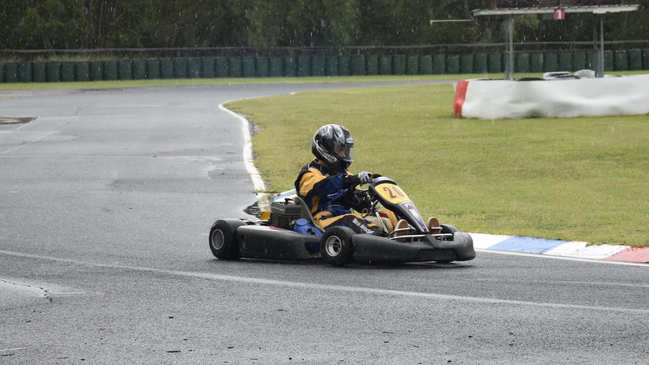 ON TRACK: A $35K grant will help deliver a much-needed track refurbishment to the Warwick Karting Club.