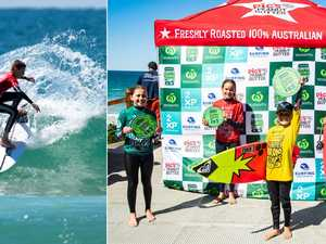 PHOTOS: Groms Comp off to a flying start in Coffs