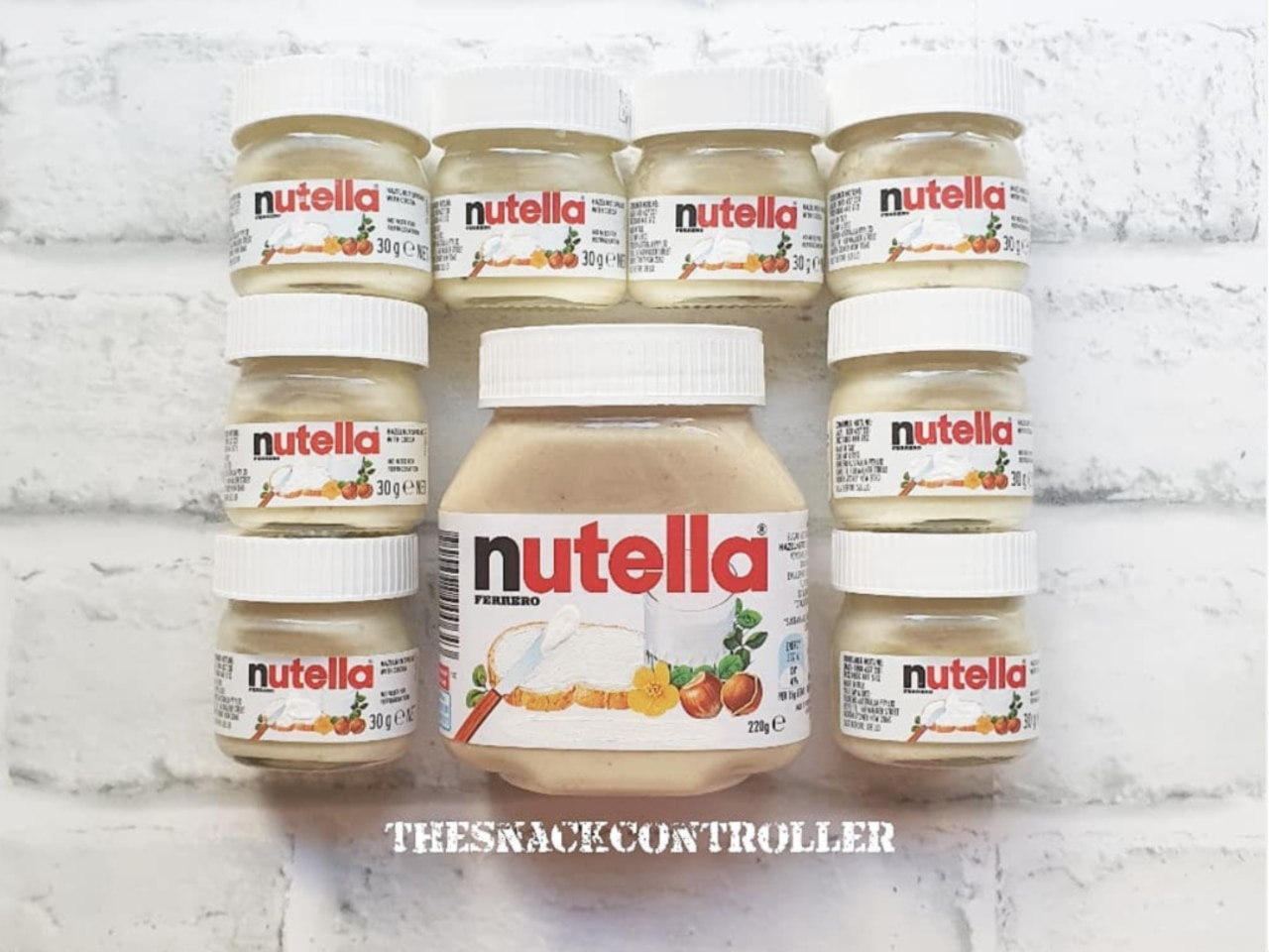 After years of frothing over the traditional chocolatey goodness of Nutella, fans are now going wild on social media for the same sweet treat - with a twist. Picture: TheSnackController/Instagram
