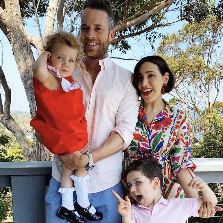 Hamish Blake, Zoe Foster-Blake and their children Sonny and Rudy. (Picture: Instagram)