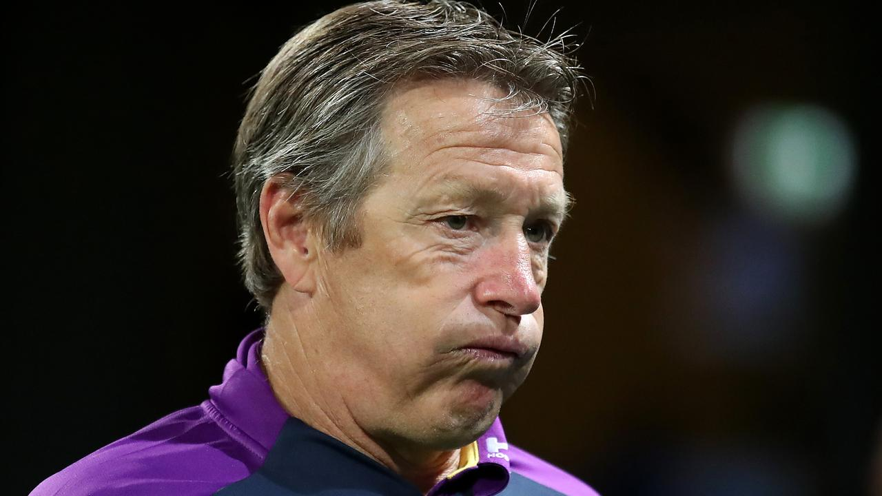Melbourne Storm coach Craig Bellamy. Picture: Cameron Spencer/Getty Images