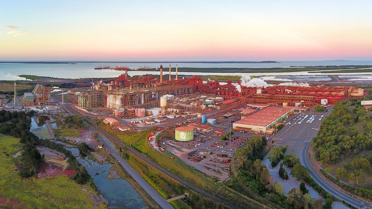 QAL's Gladstone alumina refinery.