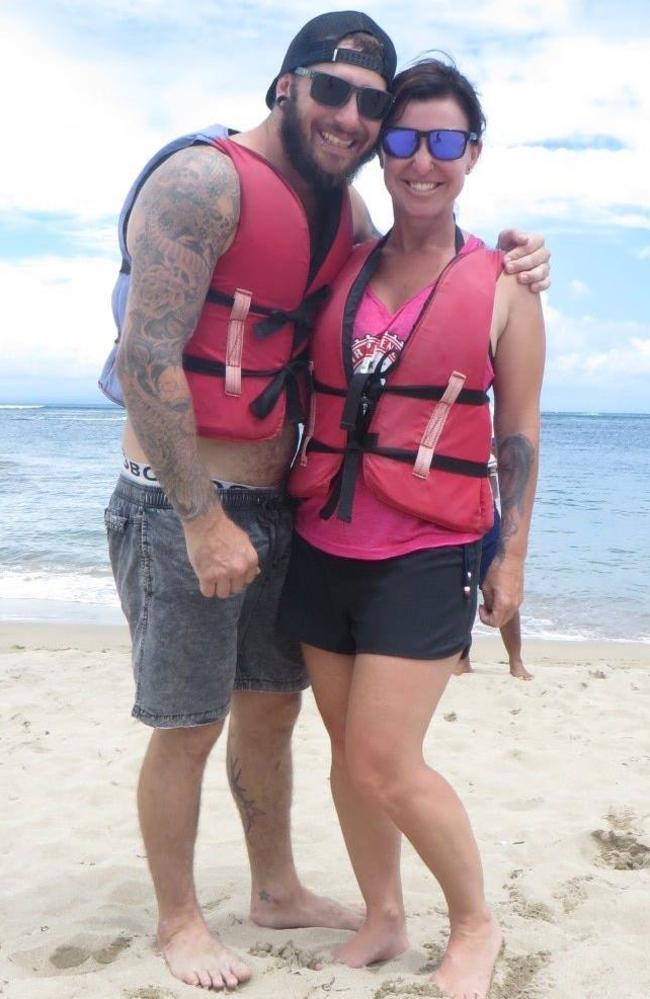 Blake Ind and Fiona Hayne (Facebook image)
