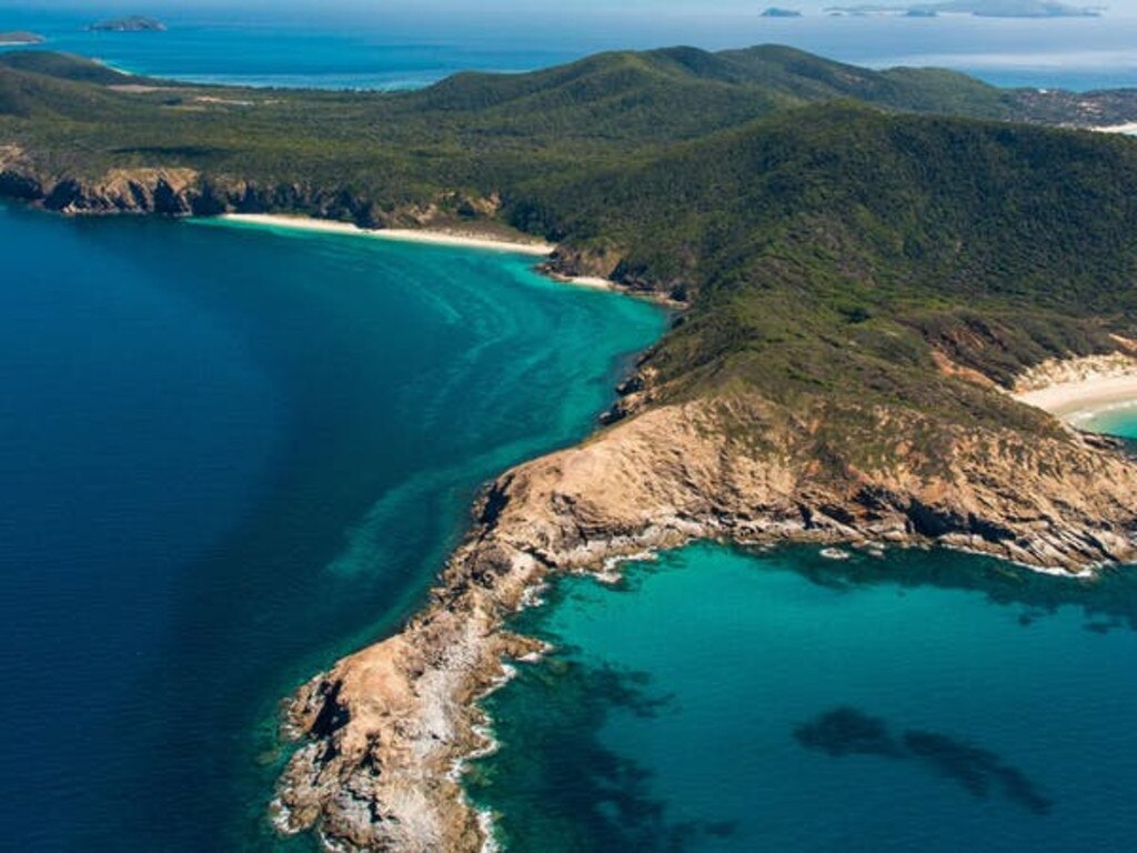 TOURISM POTENTIAL: Picturesque Great Keppel Island has massive untapped tourism and employment potential to boost the local economy.