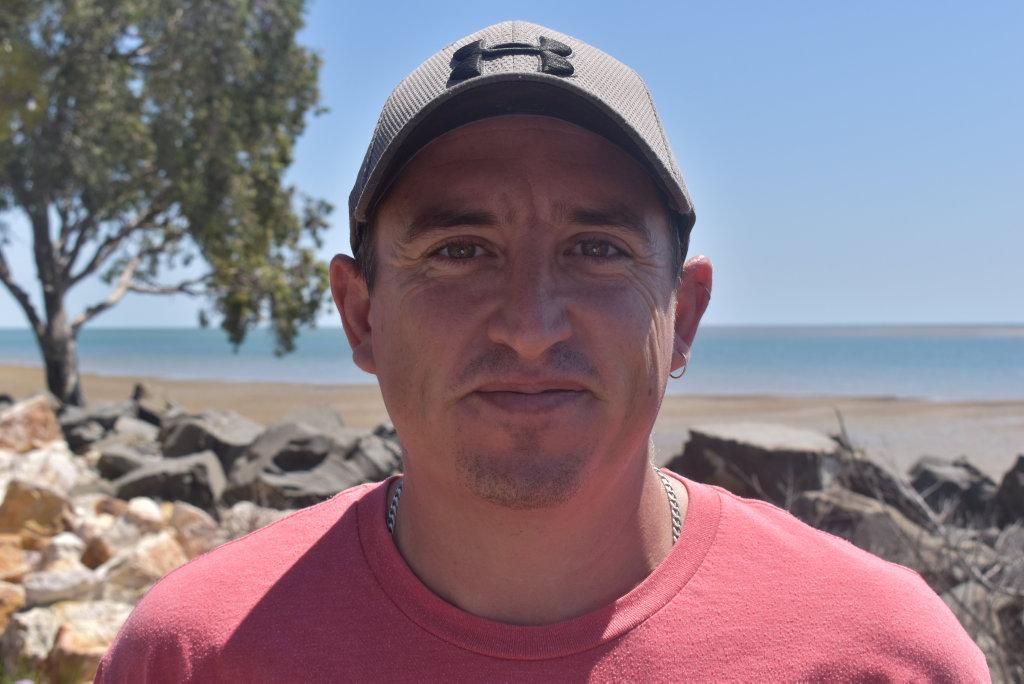 "Image for sale: ""I'll vote based on how politicians address corruption, there's no trust."" Brad Robinson, Sunshine Coast."