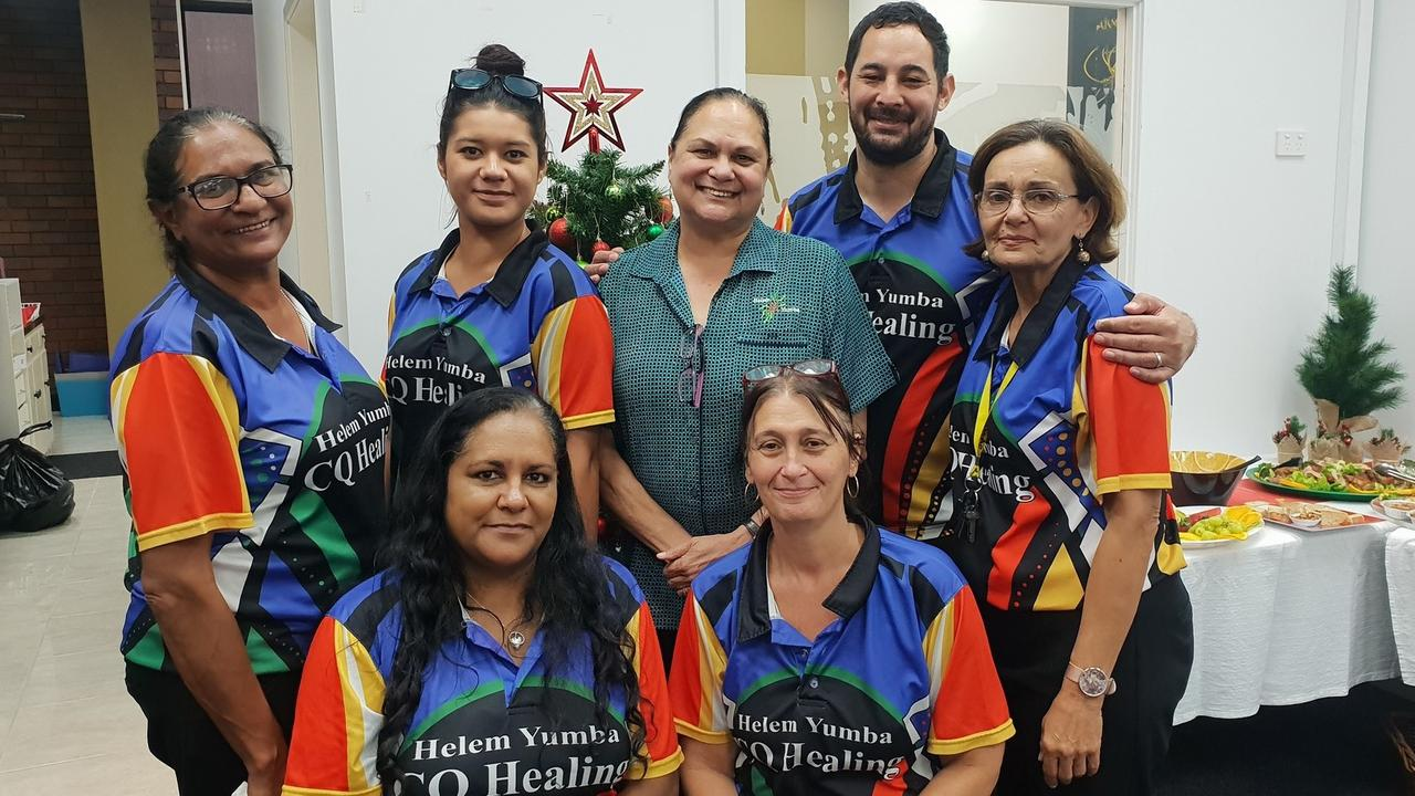 HARD WORKERS: Helem Yumba's Rockahmpton staff provide a range of therapeutic supports, that are delivered in conjunction with cultural healing programs and activities to Aboriginal and Torres Strait Islander people.